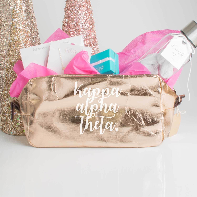 f66edff2b3 Kappa Alpha Theta Gift Bag Theta Sorority Gift Box Greek