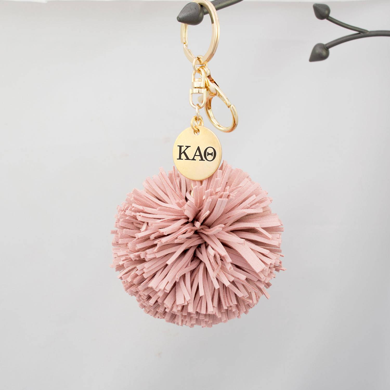 beeee93157 Kappa Alpha Theta Pom Tassel Keychain Theta Tassel Keychain