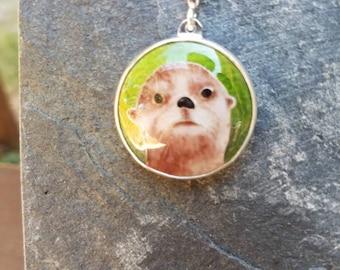 Sweet Sea Otter pendant