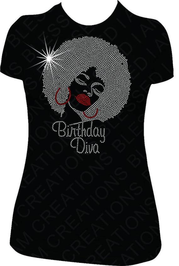 Birthday Diva Shirt Birthday shirt women adult birthday shirt bday shirt women ladies shirt b day shirts b day shirt