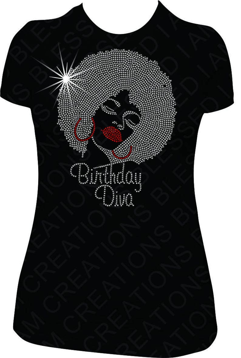 Birthday Diva Shirt Women Adult