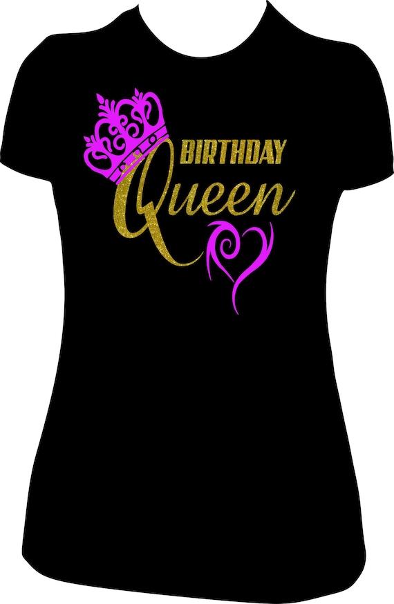 Birthday Queen T Shirt