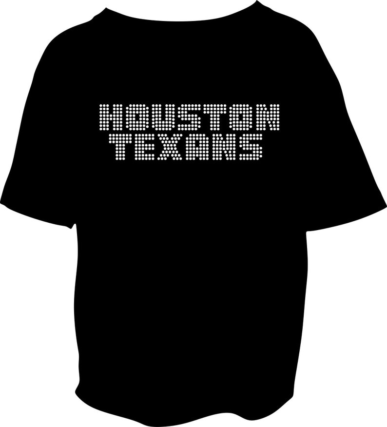 2372354d Houston Texan youth Rhinestone Shirt t shirt tshirt bling texans