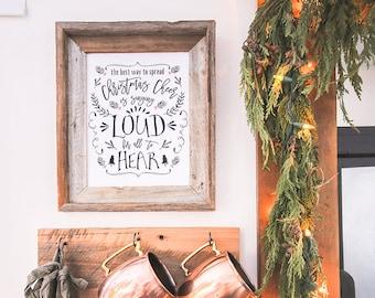 Spread Christmas Cheer Printable