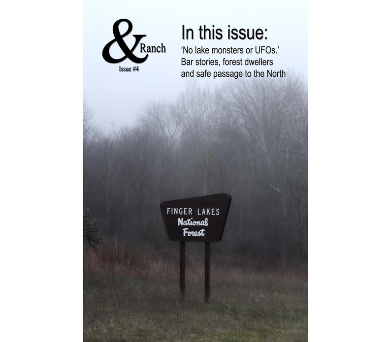Issue 4 & Ranch  Strange Happenings in the Finger Lakes image 0