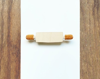 Rolling Pin Brooch