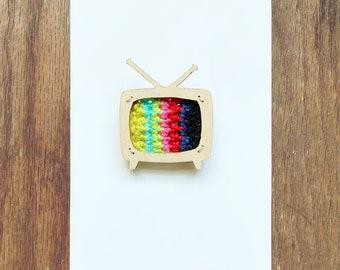 Television Brooch