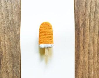 Split Popsicle Brooch
