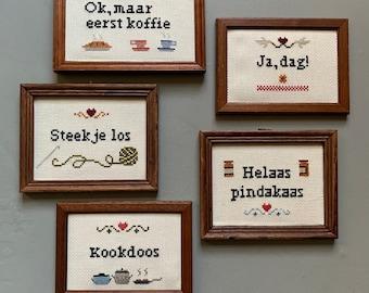 Crazy Little Stitch Frames