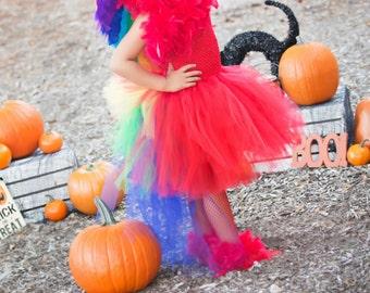 Parrot Tutu Costume Dress