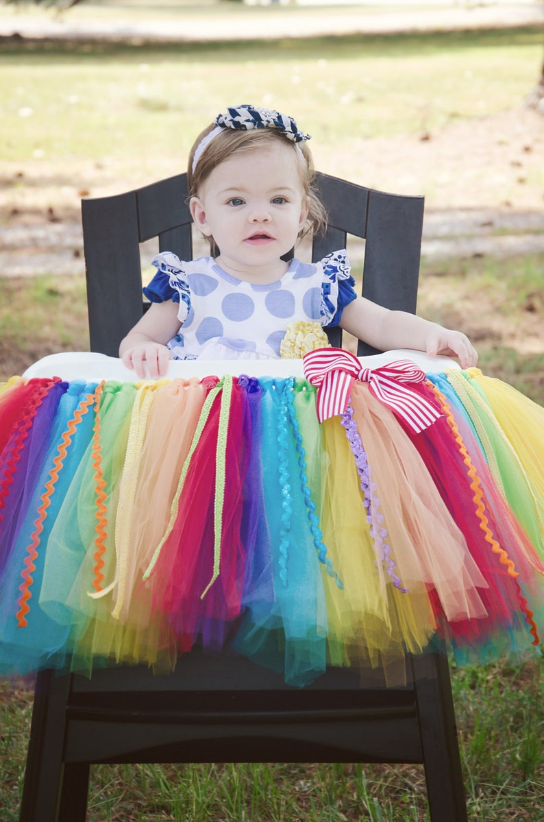 Cake Smash Outfit 1st Butterfly Tutu Outfit 1st Birthday Rainbow Tutu Outfit
