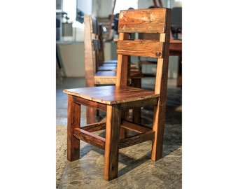 Reclaimed Farm House Chairs