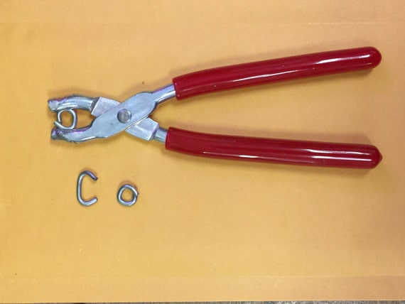 Hog Rings Pliers For Seat Covers Upholstery Doll Repair Etsy