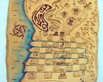 Leather Wonderland Map