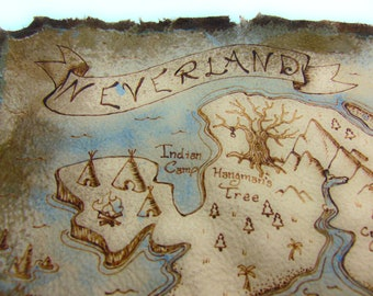Leather Neverland Map