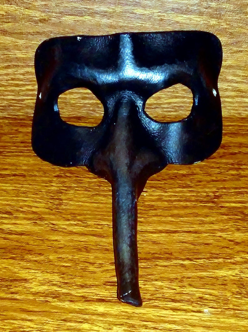 Leather Long Nosed Mask