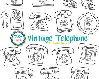 Telephone art | Etsy
