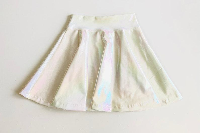 Shimmering Hologram Foil Skirt