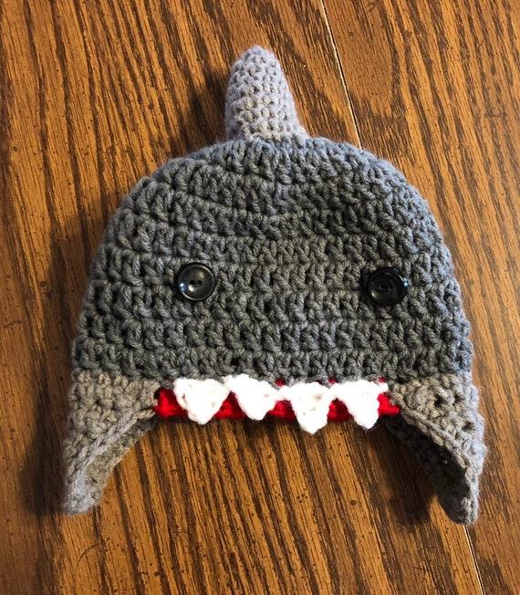 3f230b2ffd1 Baby Shark crochet hat