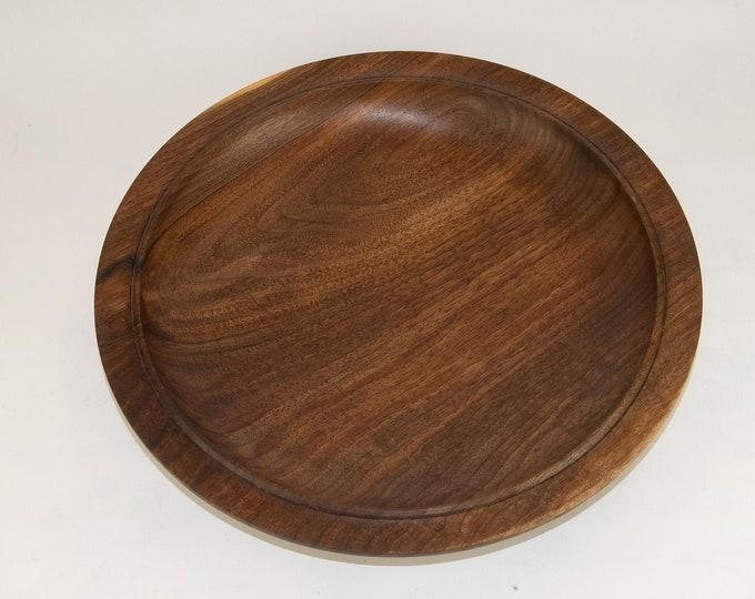 Bowl, wood bowl, kitchenware, one of a kind, Black walnut bowl, tp140