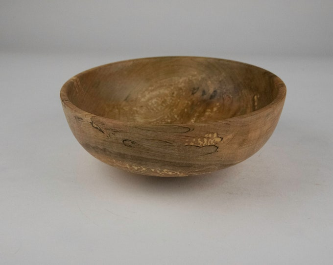 Spalted Norway maple bowl, tp698