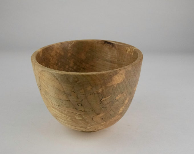 Spalted Norway maple bowl, tp695
