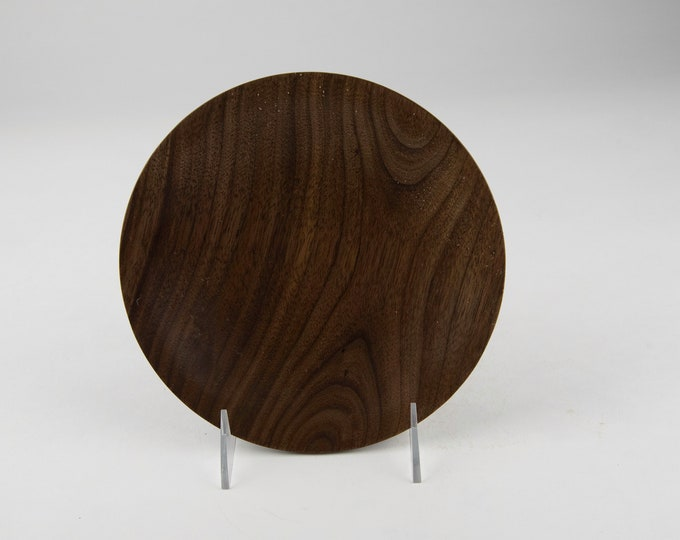 Dish, kitchen bowl, candy bowl, nut bowl, wood bowl, black walnut bowl, tp684