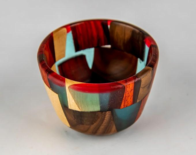 bowl, wood bowl, kitchen bowl, candy bowl, nut bowl, epoxy bowl, wood art, Wood and epoxy bowl, tp618