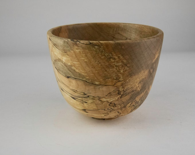 Spalted Norway maple bowl, tp696
