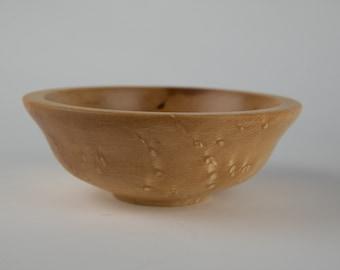 Birdseye maple bowl, tp727