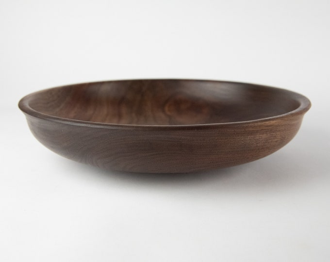 Black walnut bowl, tp 737