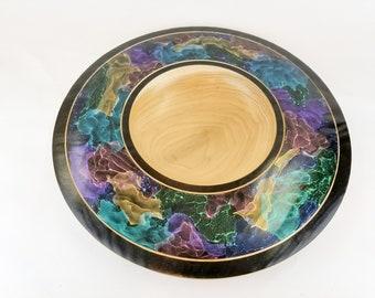 Aurora series bowl Poplar wood