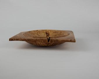 Bigleaf maple burl bowl, tp728