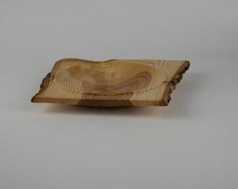 Rectangular white ash plate, tp730