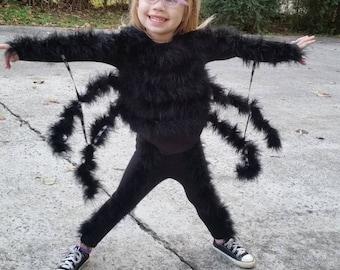 Spider Costume Halloween Costume boys halloween costume girls halloween costume baby costume charolettes web inspired MizThings & Spider costume | Etsy