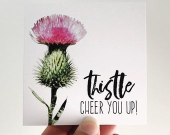 Thistle Cheer You Up Mini Card