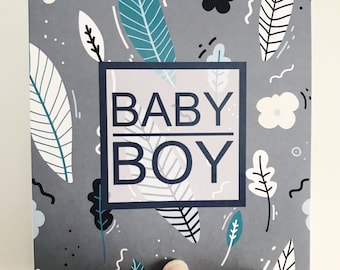 Baby Boy Card {BABY BLUES}