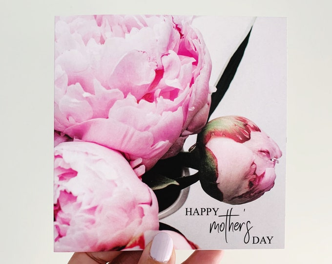 Featured listing image: Mother's Day Card {PEONIES}