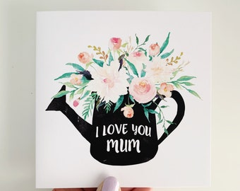 Mother's Day Card {Flowerpot Floral}