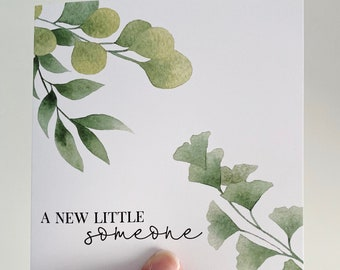 A New Little Someone Card {LEAFY LOVE}
