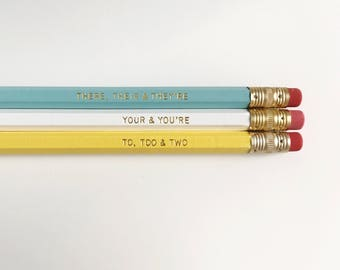 Good Grammar Pencils