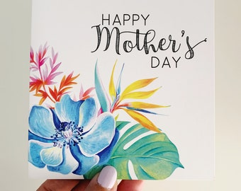 Mother's Day Card {Paradise Floral}