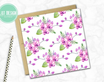 Orchids Mini Card