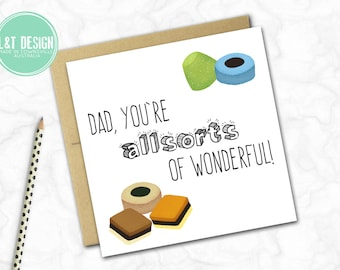Father's Day Card {ALL SORTS}