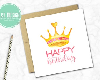 Birthday Card {CROWN}
