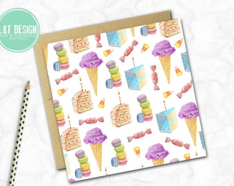 Sweet Tooth Mini Card
