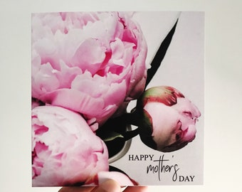 Mother's Day Card {PRETTY PEONIES}