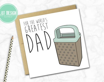 Father's Day Card {GREATEST DAD}