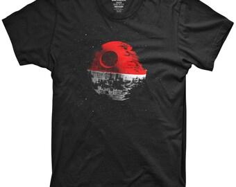 Pokemon Death Star T-Shirt Kids Boys Funny Parody Darth Vader Go Yoda Jedi Sith