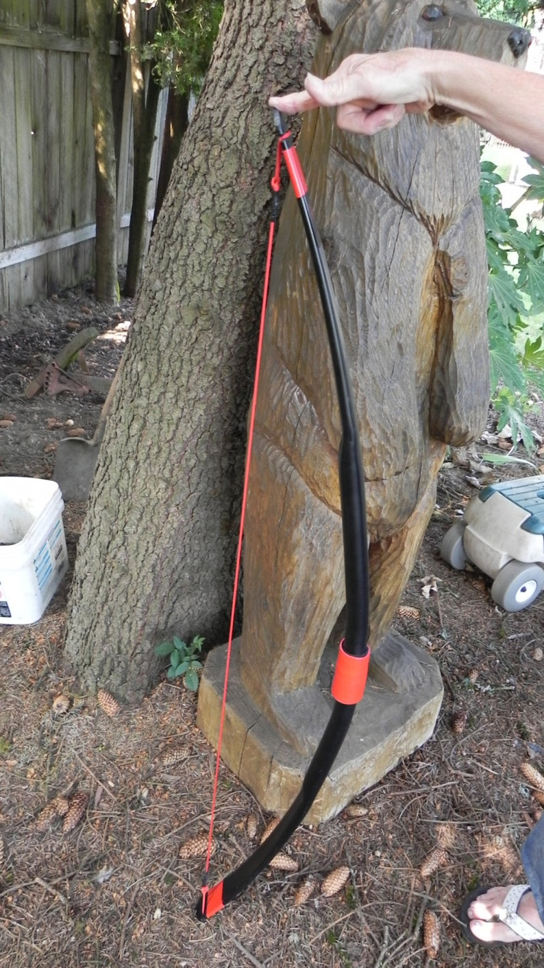 """Archery Long Bow 40-50lb@ 28/"""" Draw /""""The SPIDER/"""""""